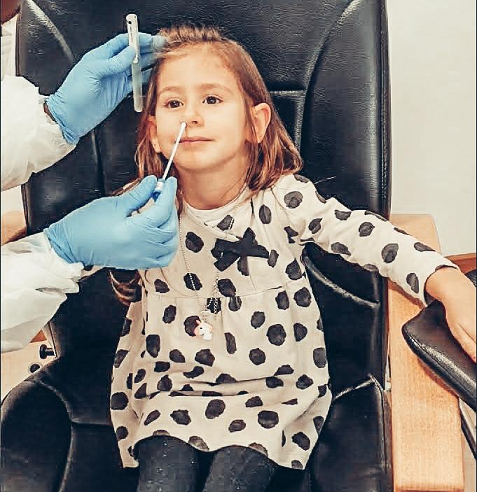Remoção das amígdalas e adenoides - teste covid