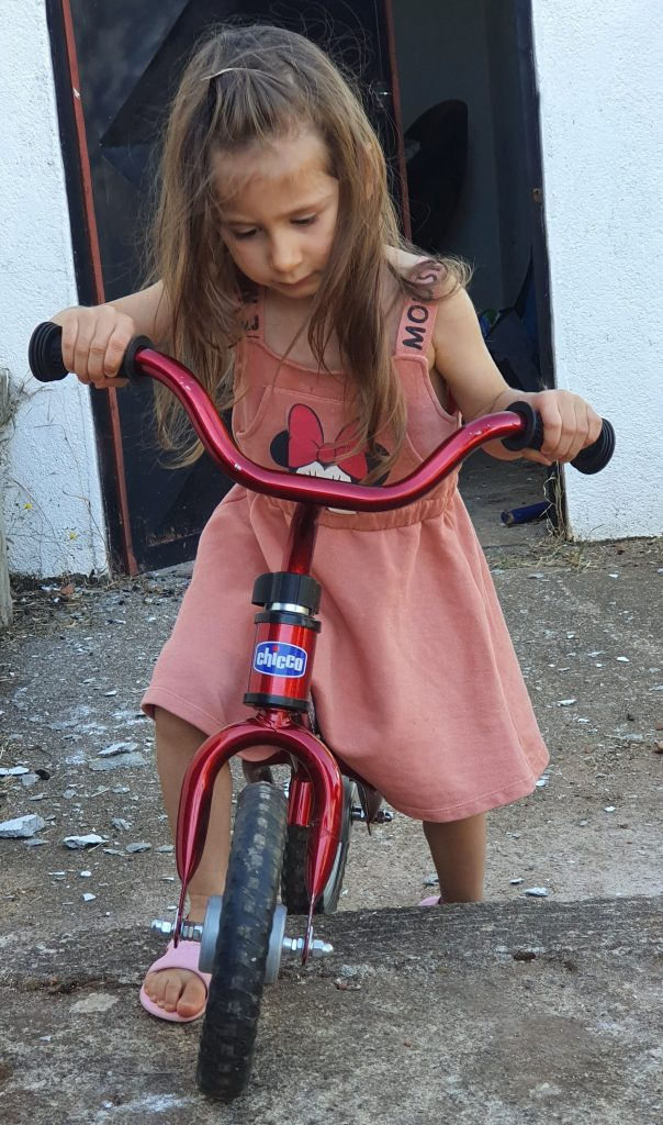 bicicleta de equilíbrio